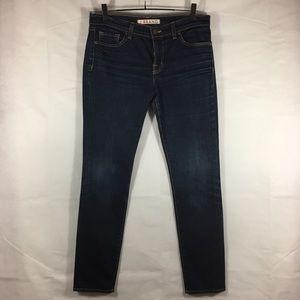JBrand Skinny Jeans in dark wash